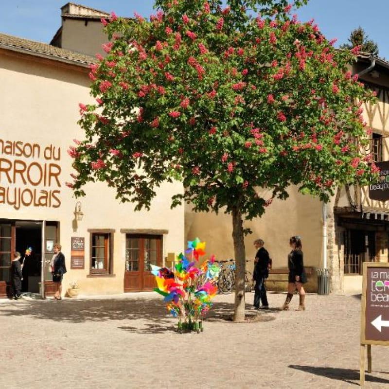 la Maison du terroir beaujolais à Beaujeu