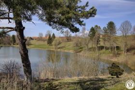 proximité de 2 étangs.