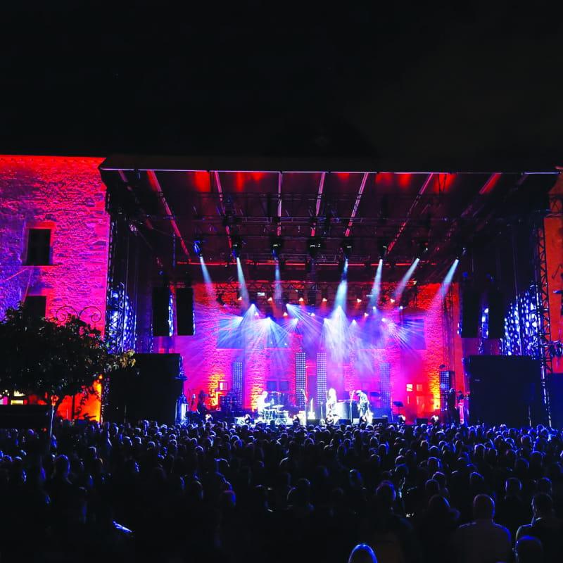Les Vendanges Musicale Parvis du Château