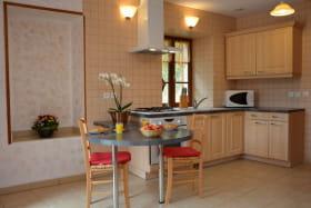 La Petite Maison du Meunier à Vauxrenard (Rhône - Beaujolais) : le coin cuisine