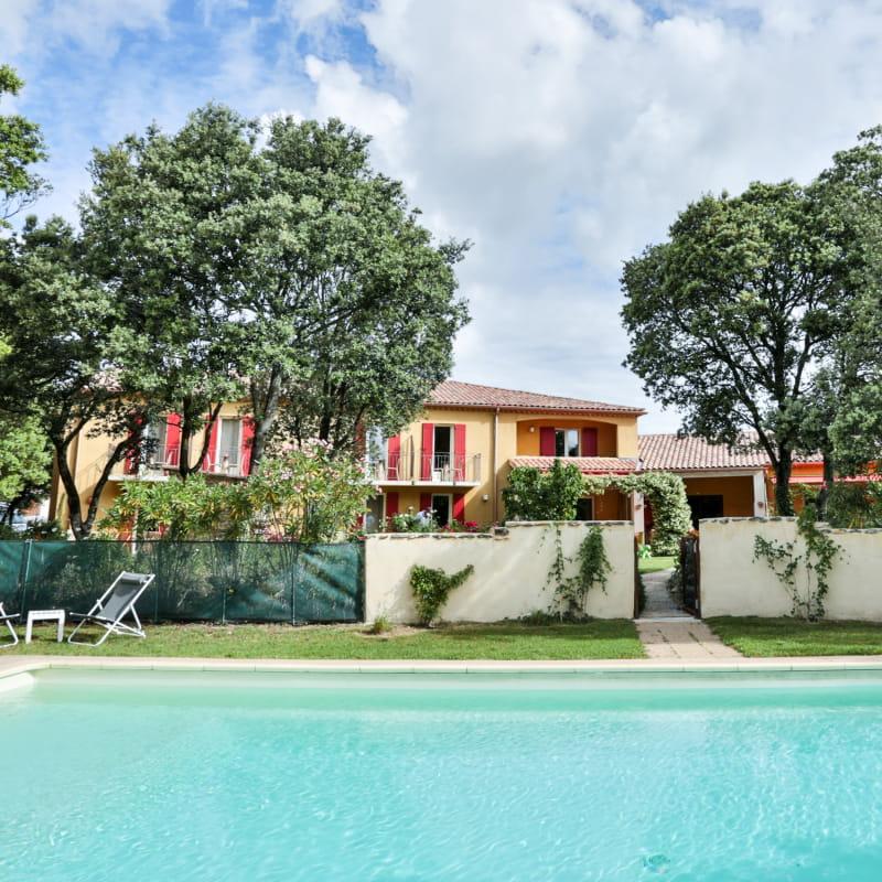 La Bastide et sa piscine - La Bastide de Grignan