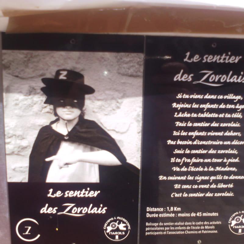 Le sentier des Zorrolais