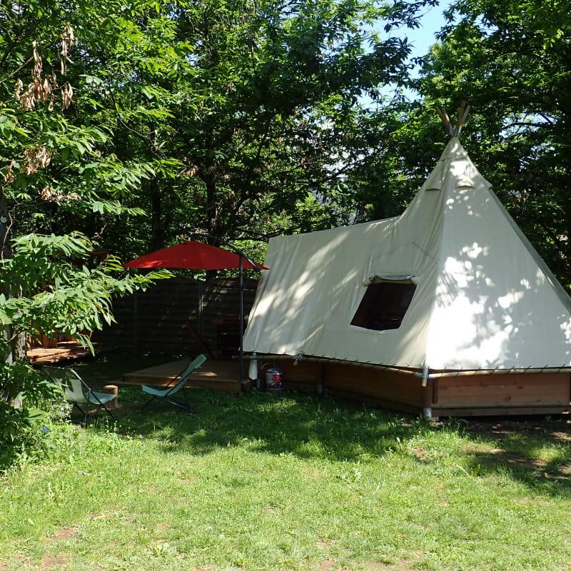 Camping La Châtaigneraie - Tipi