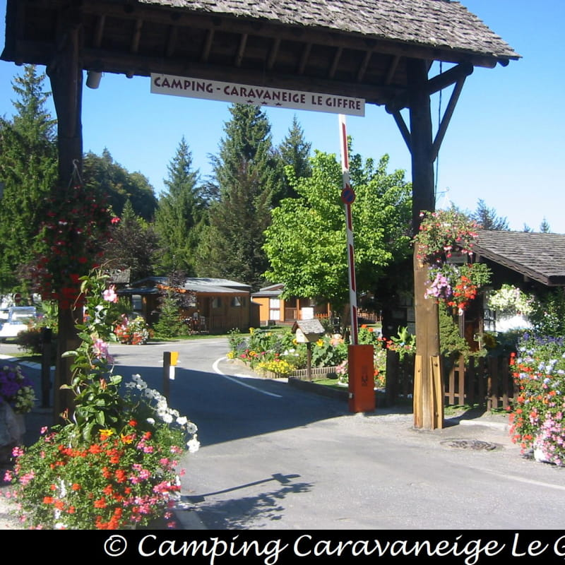 Camping Le Giffre