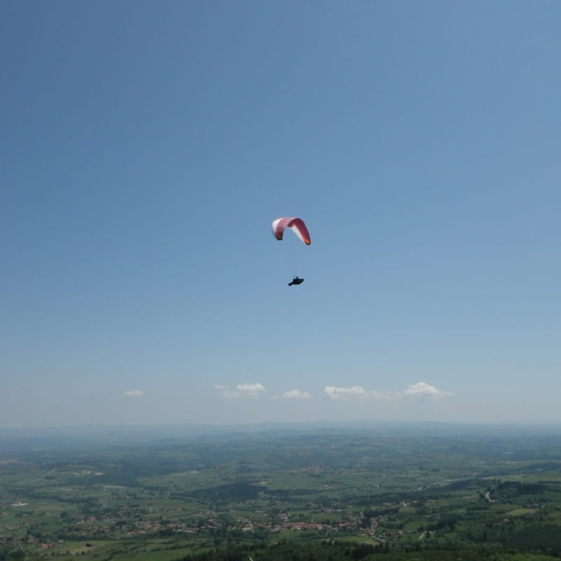 Vol libre en Roannais