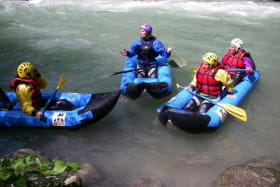 Kayak-raft sur la Dranse