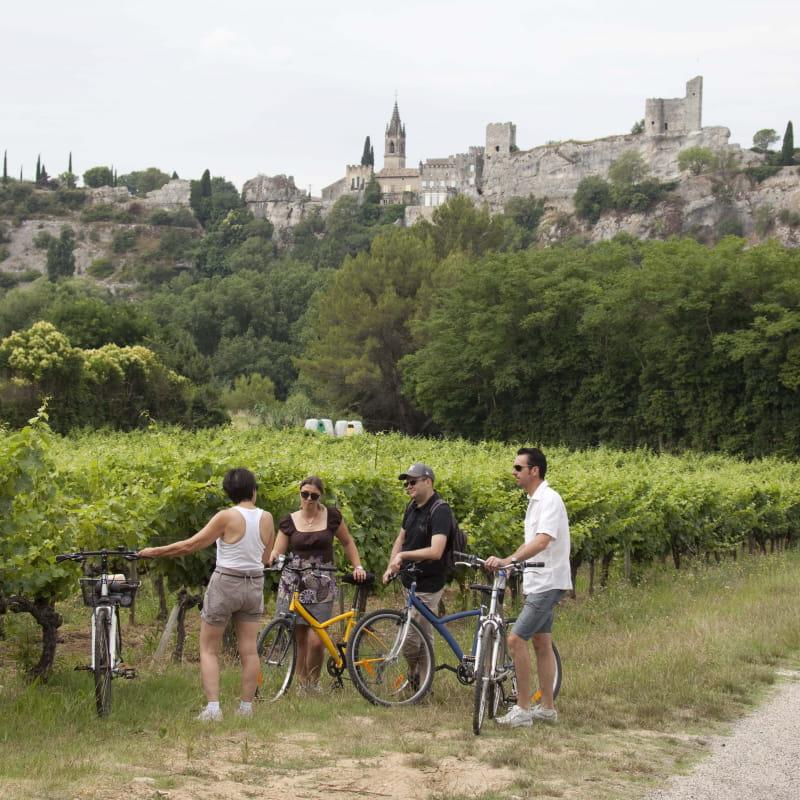 Balade à Vélo à Saint-Martin-D'Ardèche