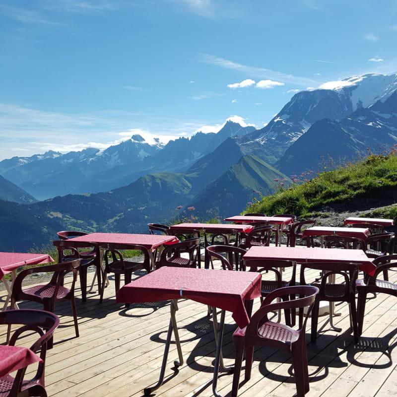 Terrasse Mont Joly