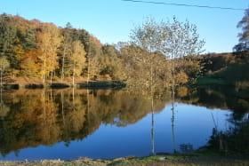Avec étang de pêche privé