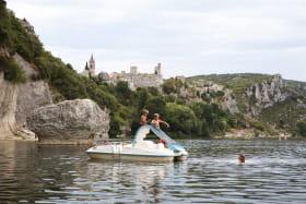 Plage du Grain de Sel à Saint-Martin-d'Ardèche