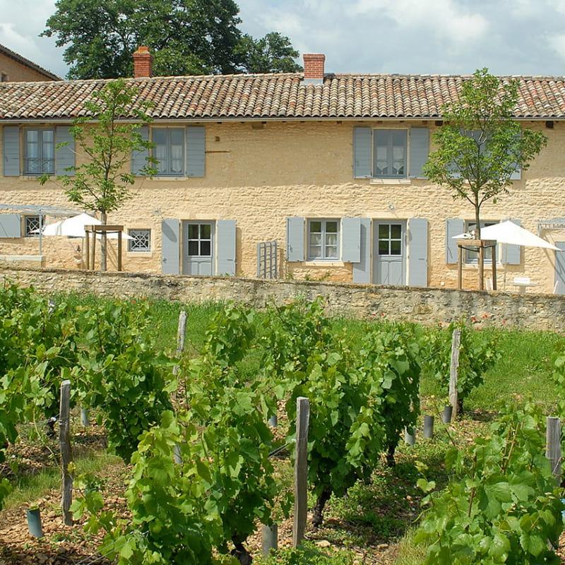 Le Logis de Claudine à Pommiers dans le Beaujolais (Rhône).