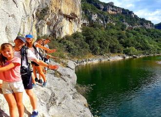Randonnée dans la Réserve des Gorges de l'Ardèche