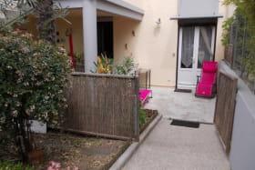 Gîte au rez-de-chaussée avec petite terrasse