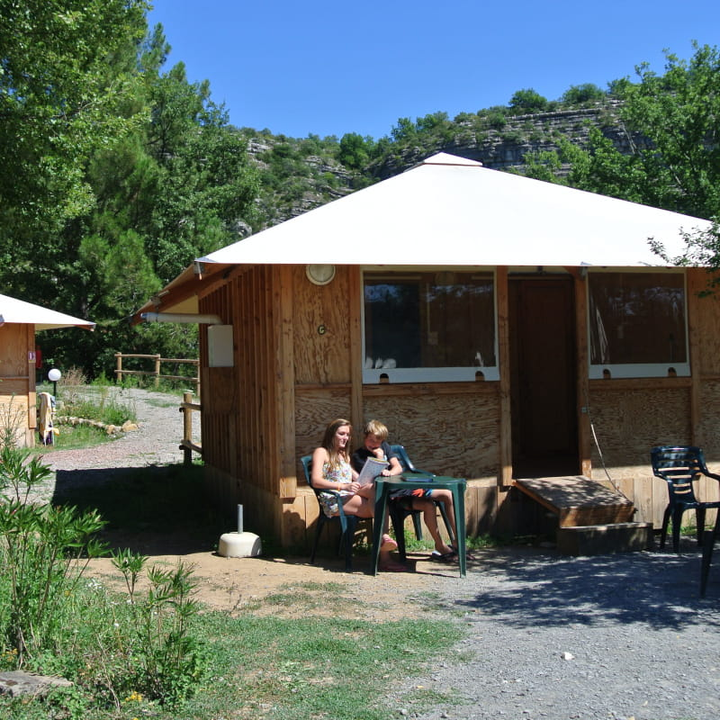 Les Cabanes de Cornillon - Ceven' Aventure