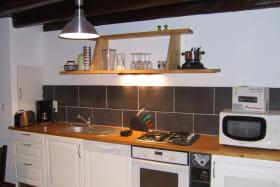 La source des Diounes - cuisine