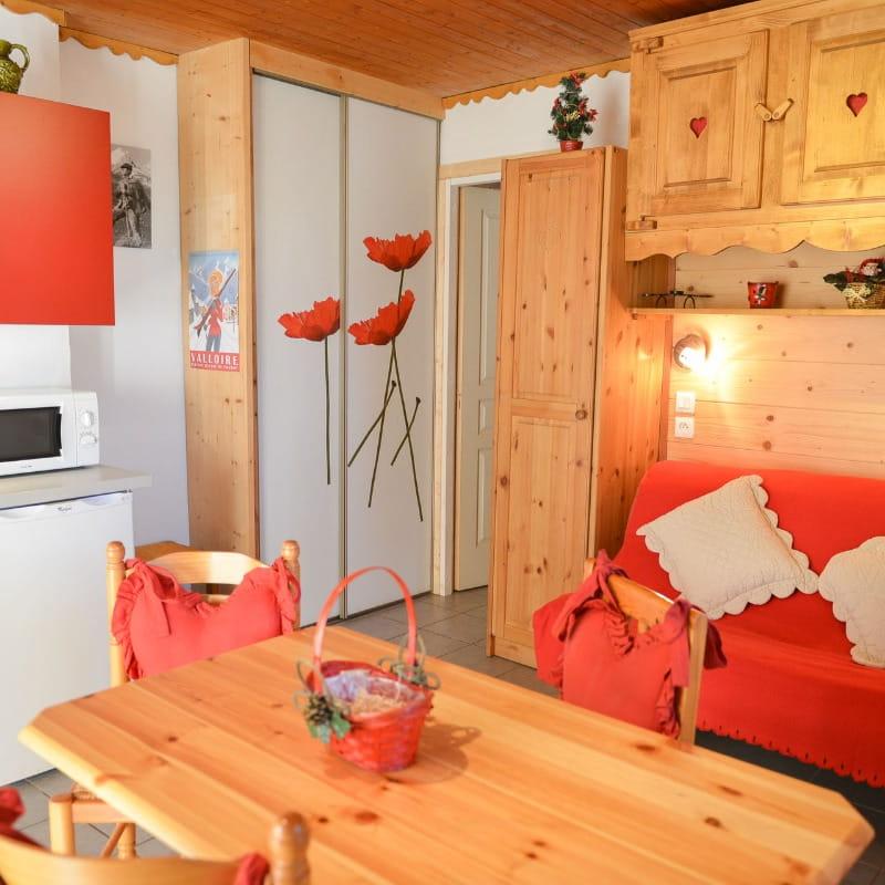 LES ECRINS : Location appartement au RDC d'un chalet au coeur de Valloire Galibier (Savoie)