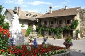 Yvoire - Place du village