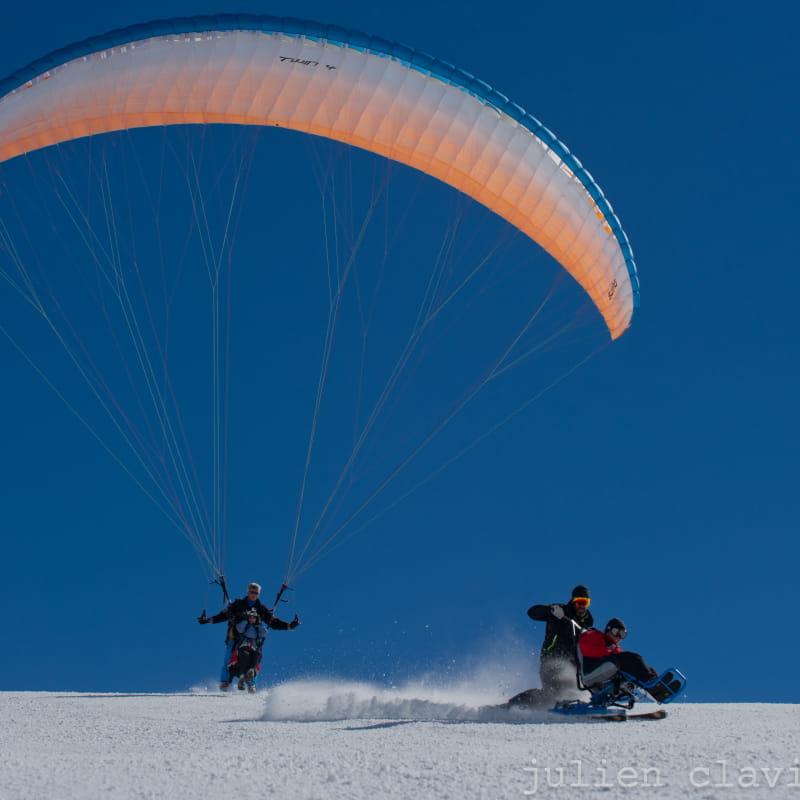 L'Anae vous propose du CIMGO, le ski assis !