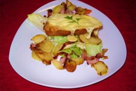 Restaurant La Chabana Nébouzat plat 2