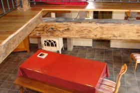 Gîte Marguerite - Saint-Priest-Bramefant - salle à manger