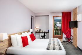 A Valfréjus, une chambre de l'hôtel-club du Soleil