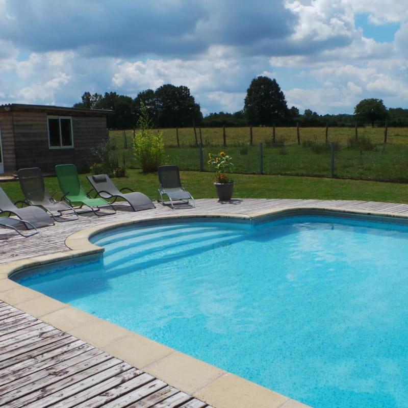 Maison 3 chambres avec grande piscine