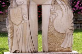 Sculpture Culoz - Guerre et paix