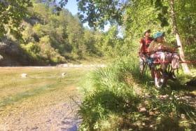 Randonnée joëlette rivière