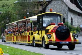 Petit train à Châtel