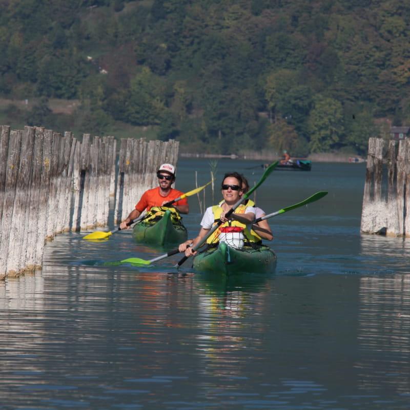 Canoe Kayak sur le Lac d'Aiguebelette