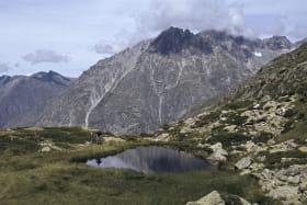 Lac des Fétoules au départ du refuge de la Lavey - rando