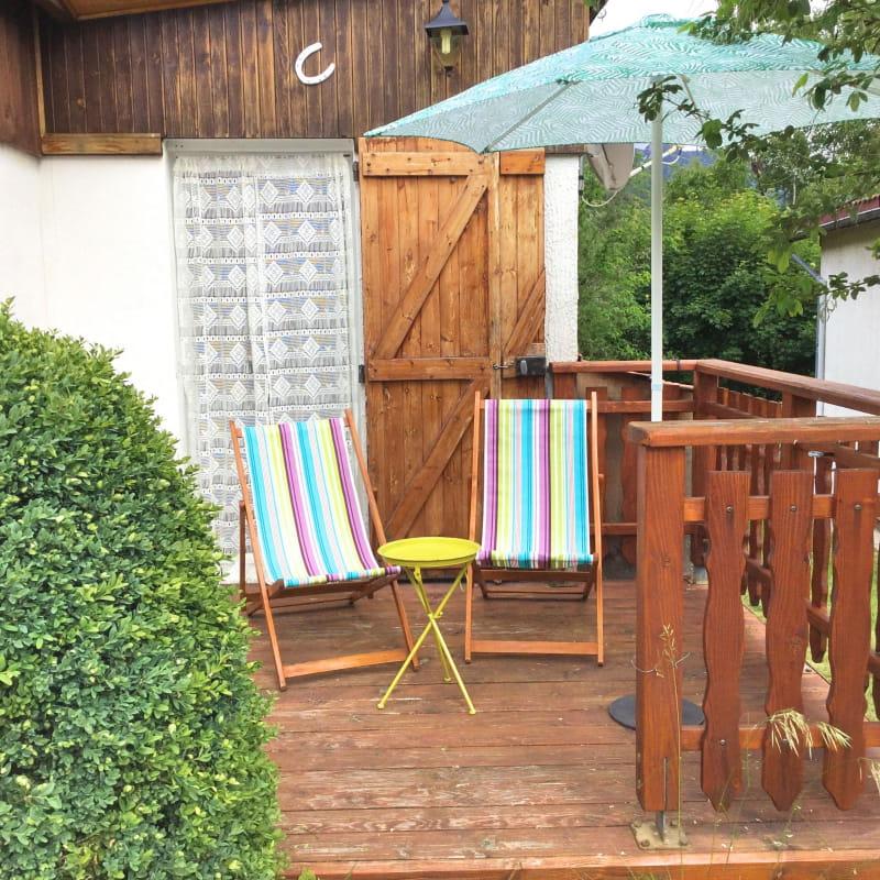 Terrasse chaise longue