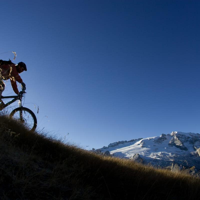 VTT Freeride sur les plus beau domaines des Alpes