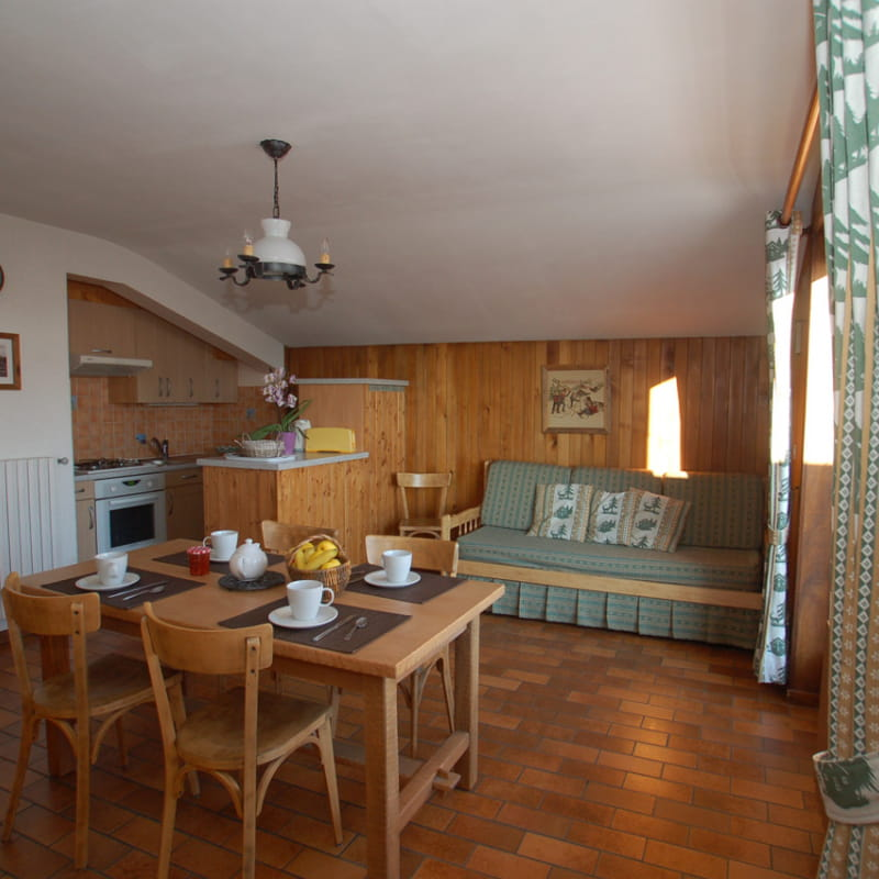 Salle à manger et pièce à vivre/ Diner area and living room- Bachal n°4 - Le Grand-Bornand