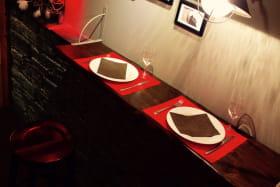 Intérieur restaurant l'Avalanche