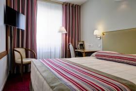 Chambre Confort Hôtel Axotel Lyon Perrache