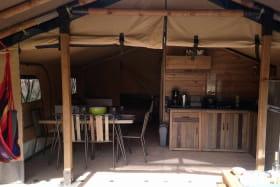 Camping Belle Roche - Lodge Espace