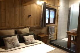 CHALET LE PRESTIGE : A Valmeinier, Chalet individuel de 230 m² pour 15 personnes, gite savoie