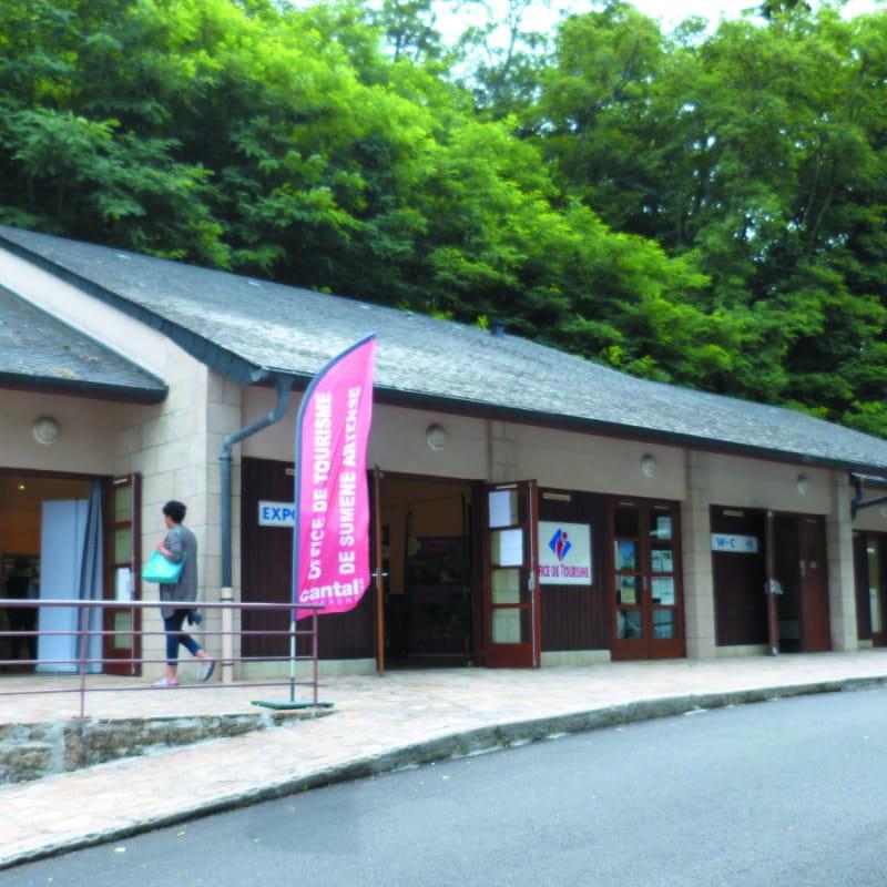 Office de Tourisme de Sumène Artense bureau de Lanobre