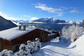 façade nord en hiver