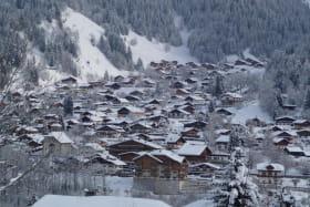 Vue du village depuis la terrasse