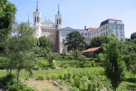 Jardins à Fourvière