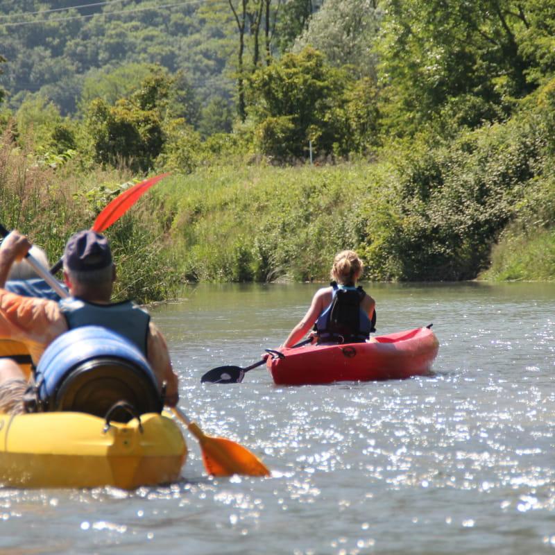 Canoë Kayak : descentes du vieux Rhône - la cano'E VTT