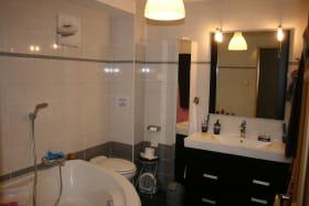 Salle de bains Chambre d'hôtes Thorens-Glières