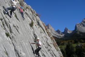 Escalade avec En Montagne
