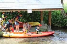 départ canoe