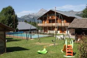 Chalet Le Grépon, e-Jeux enfants, piscine chauffée