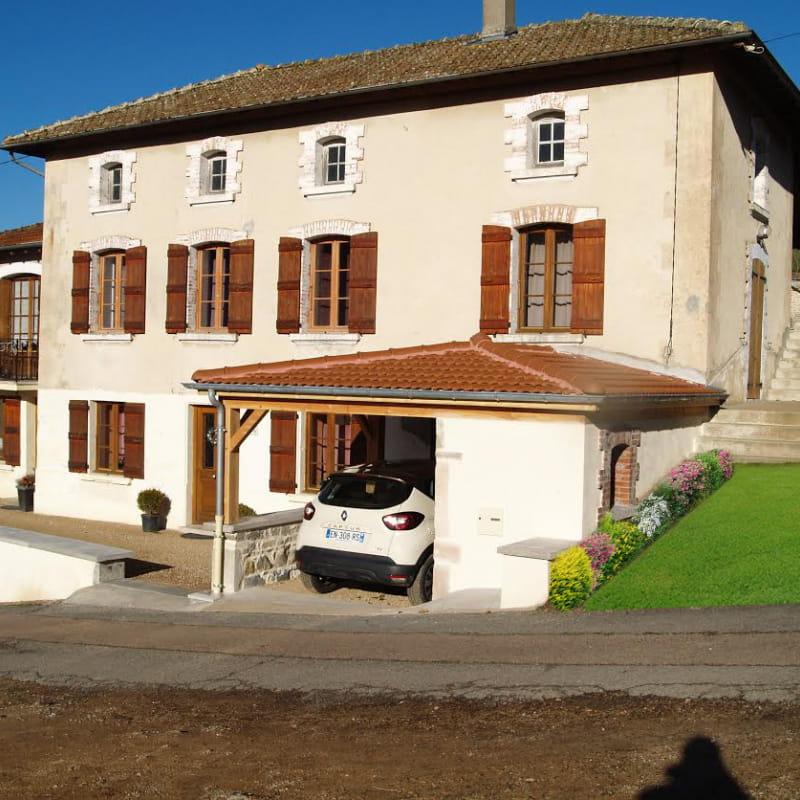 Chambre d'hôtes 'La Fuserie' à Ouroux (Rhône - Beaujolais Vert).