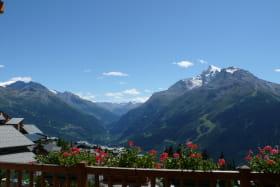 profitez du panorama sur la vallée de la Tarentaise, Alpes