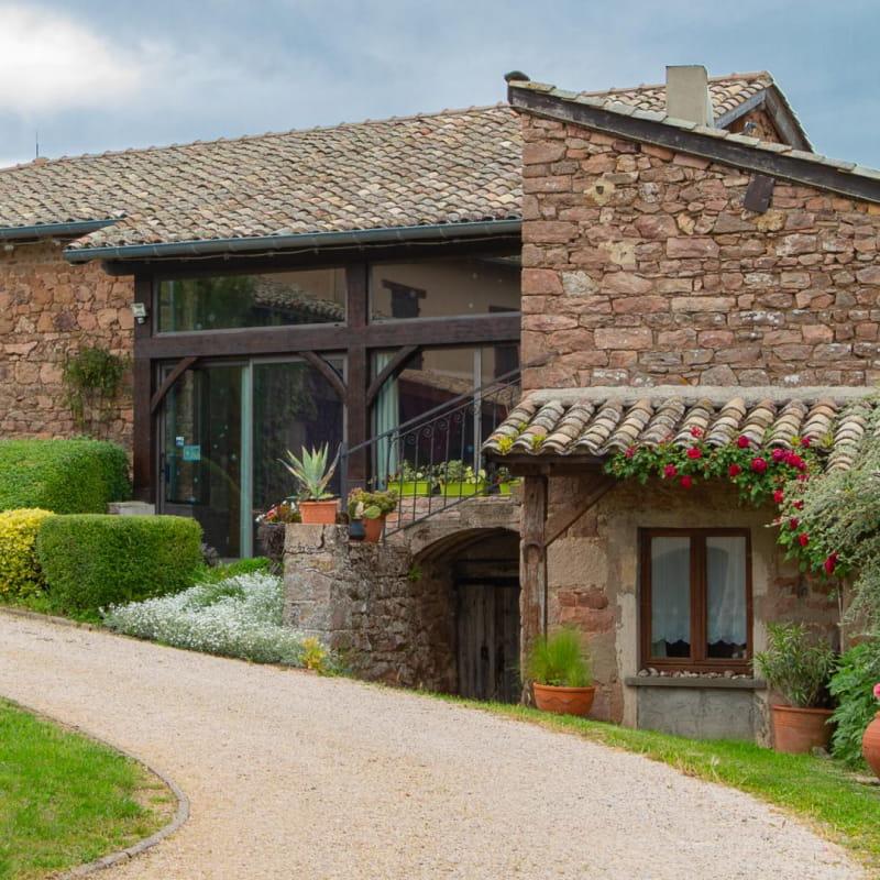 Gite 'L'Amandière' à Julienas (Rhône - Beaujolais vignobles) : la maison